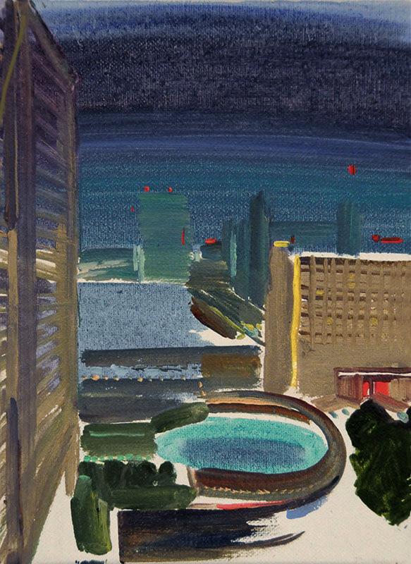 Debesis pār pilsētu III / Sky Covers the Town III